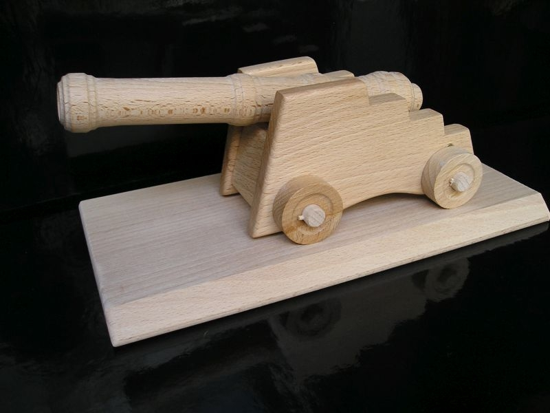 Historische Kanone, Kanone, Souvenir, Holzspielzeug Geschenke