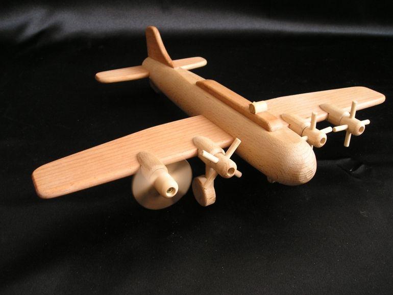 Großes Boeing Spielzeugflugzeug