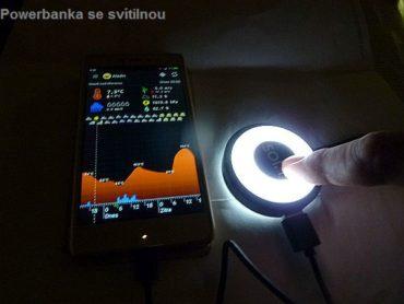 LED-Lampe, Lampe, Taschenlampe, PowerBank