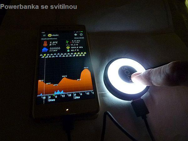 LED svietidlo, lampička, baterka, PowerBank | chytré doplnky do dámskej kabelky, darčeky pre ženy