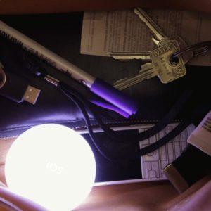 SOI. MAXI - automatische Lampe für Handtasche oder Nachttisch