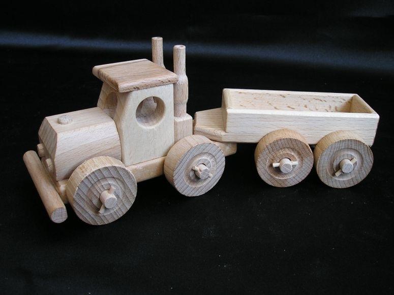 TIR Babywagen Holzspielzeug Geschenke für Fahrer
