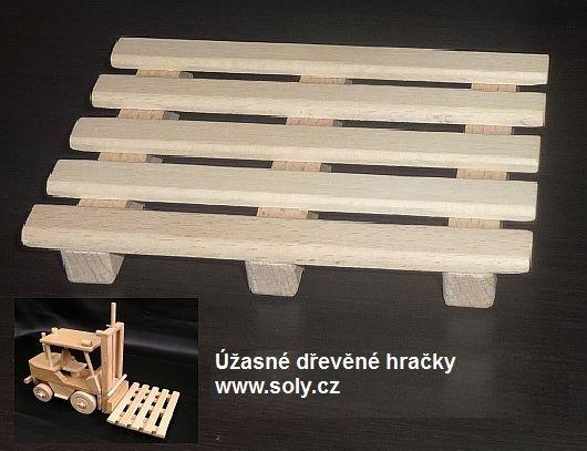 Holzpaletten für Gabelstapler Eidechse Holzspielzeug