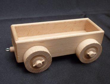 Holzzugwagen für die jüngsten Kinder Holzspielzeug Holzgeschenke