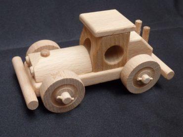 Bugi - hölzernes Rennspielzeugauto