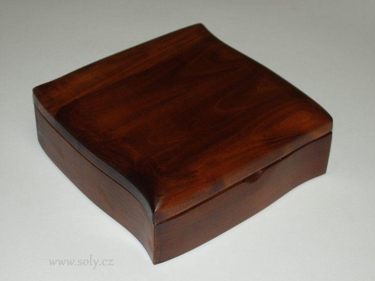 Schmuckschatullen und Schmuckschatullen aus Holz
