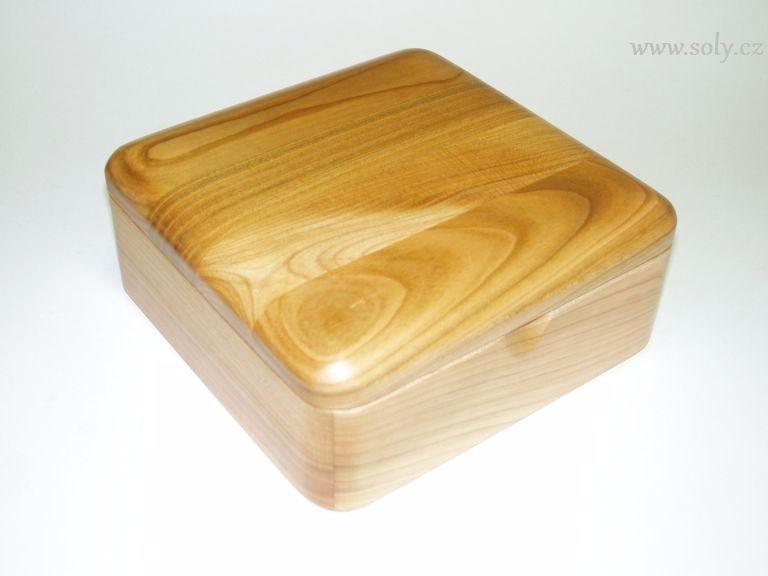 Schmuckschatulle Schmuckschatulle aus Naturholz