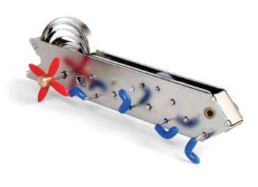 Bonga-Raupe. Mechanisches Blechschlüsselspielzeug