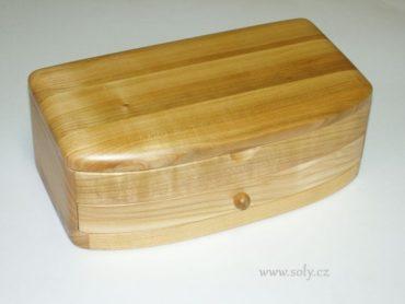 Schmuckschatulle mit Schublade Schmuckschatullen aus Holz NATUR