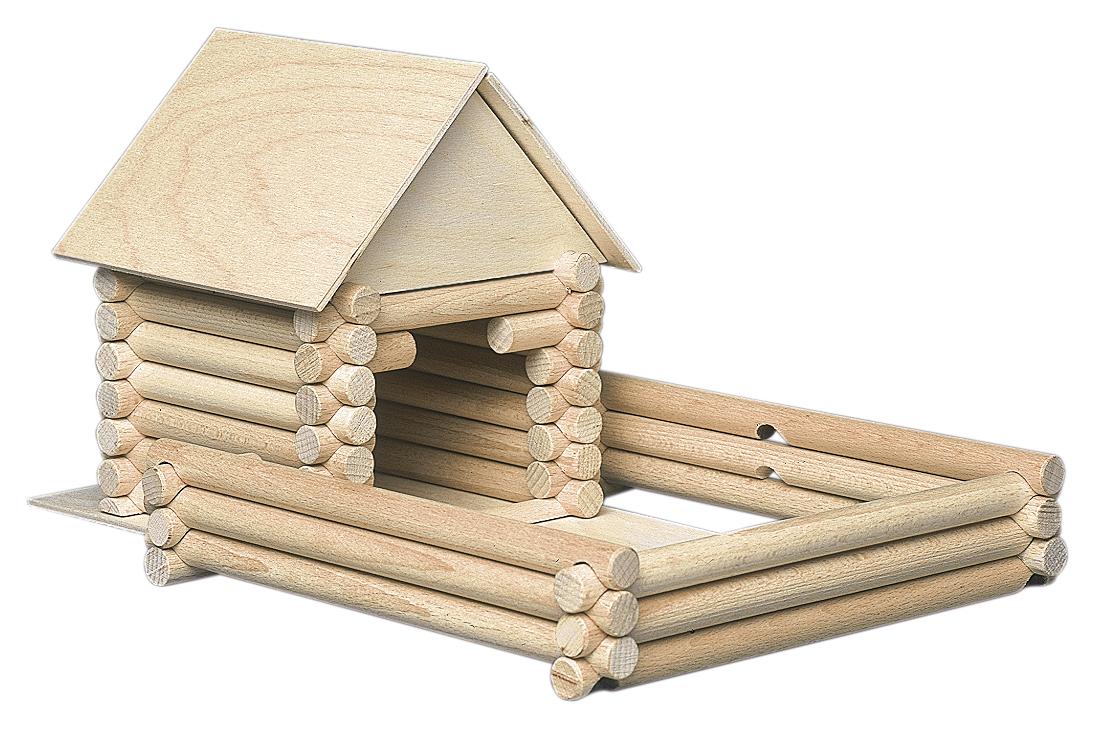 Holzbausteine für 17 verschiedene Gebäude und Häuser Holzwürfeldov a domov | drevené kocky