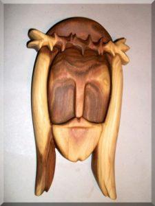Jesus Christus Holzfigur, Holzstatuen, Skulpturen