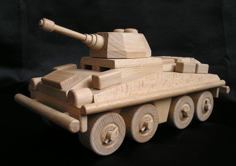 Puma Transporter, Militärpanzer Holzspielzeug militärische Geschenke für Fahrer