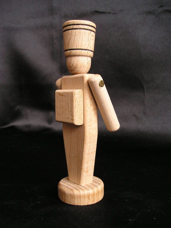 Holzsoldat – Holzspielzeug 12 cm.