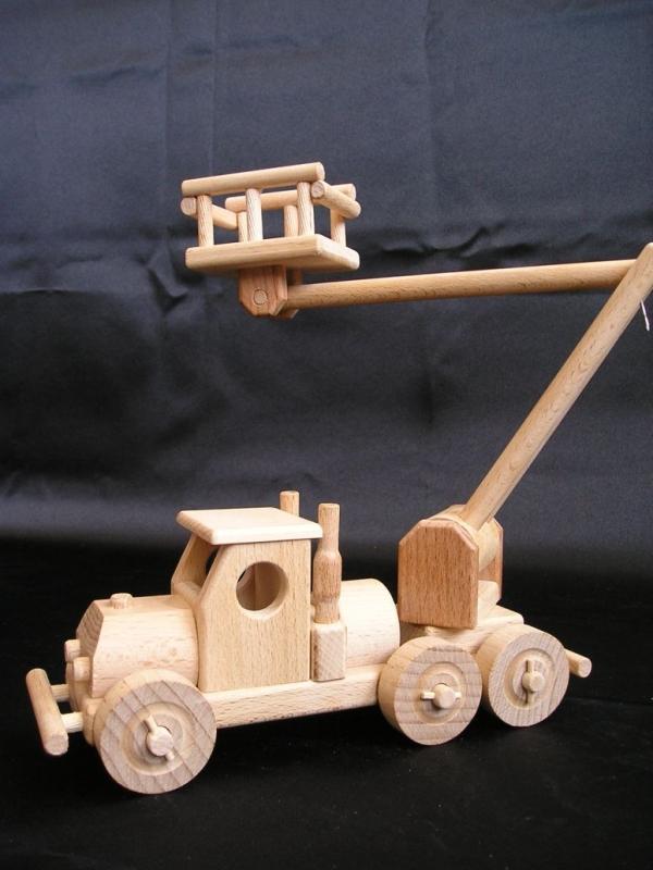 LKW-montierte Plattformen Holzspielzeug Geschenke für Fahrer