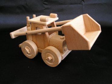 Bulldozer, Sandlader Holzspielzeug