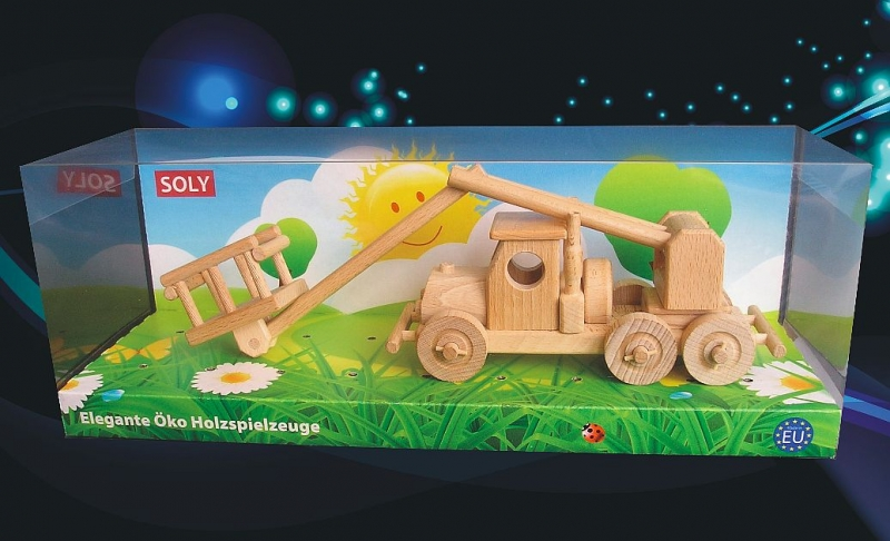 Plattformauto Holzspielzeug Geschenk für Autofahrer