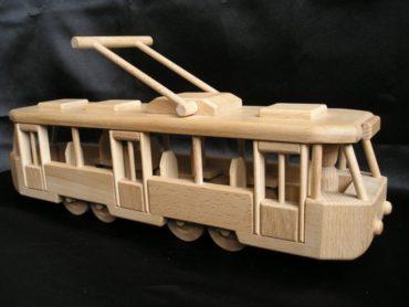 Elektrisches Holzspielzeug Holzgeschenke