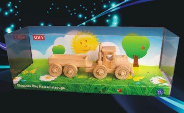Holzspielzeug Geschenkwagen LKW