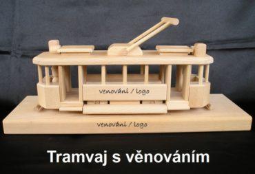 Holzgeschenke für Straßenbahnfahrer