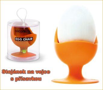 Stand, gekochter Eierbecher mit Saugnapf, Silikonformen
