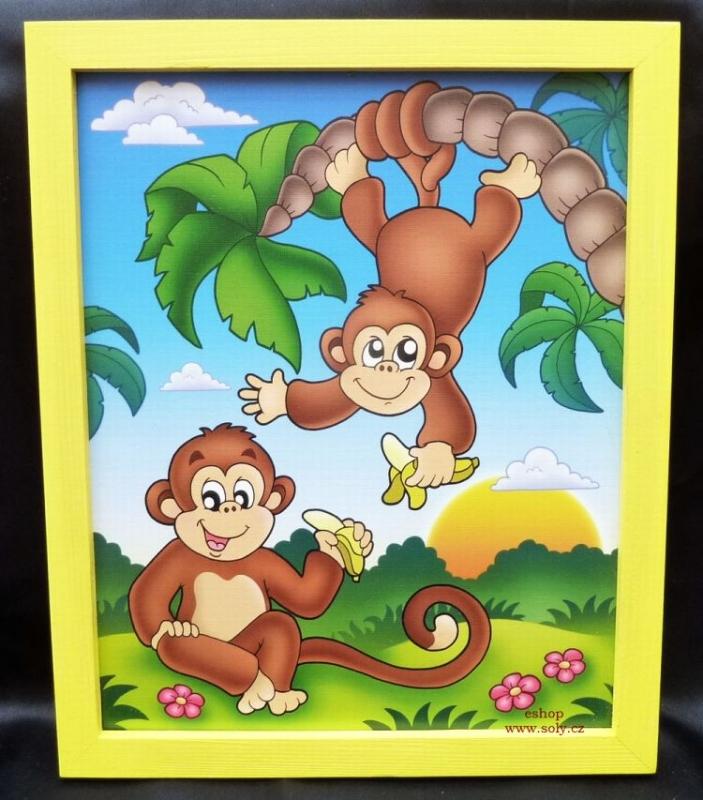 Affen, Affe Kinderbilder für Kinderzimmer