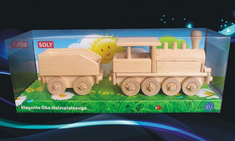 Holzlokomotive mit Holzkohle Dampflokomotiven Spielzeugeisenbahnen