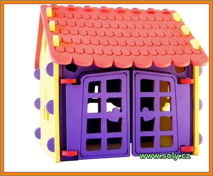 Schaumhaus-Kit sicheres und gesundes Spielzeug aus der Tschechischen Republik