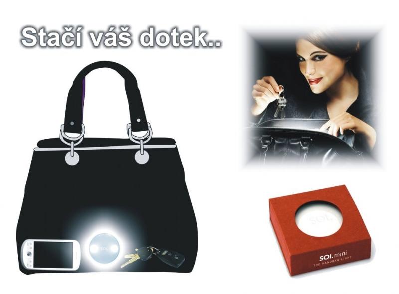 LED intelligente Taschenlampe, Taschenlampe, Lampe für Damenhandtasche
