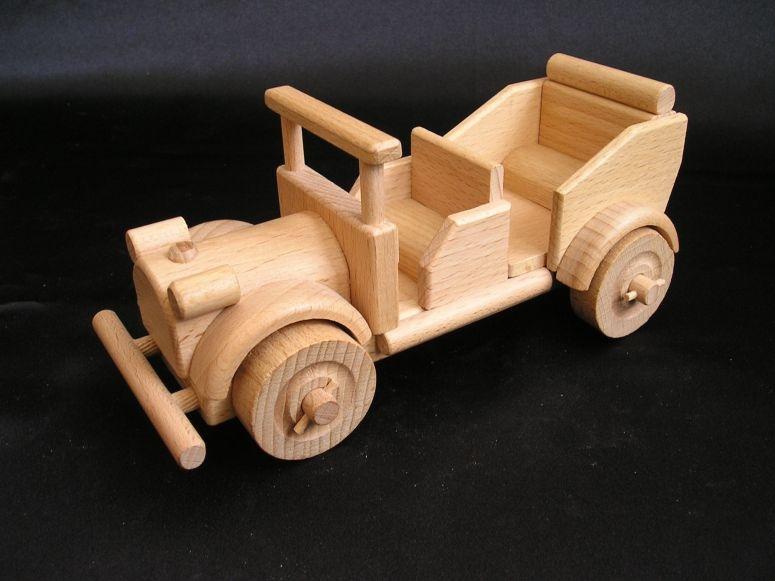 Auto-Veteranen, Spielezeug, Veteranen-Wagen Holzspielzeug Geschenk für Fahrer