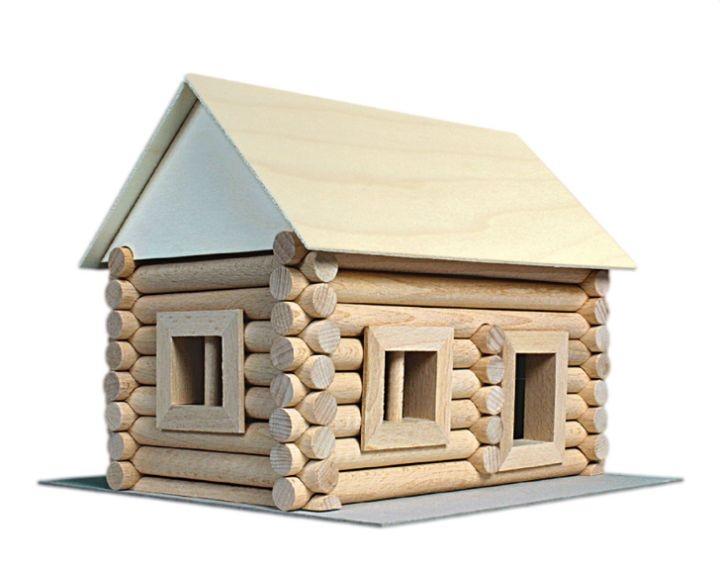 Cottage Blockhaus Holzset für Kinder