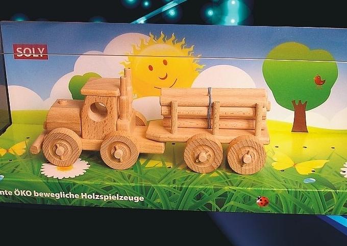 Spielzeuge Holzspielzeug LKW Geschenk für Fahrer