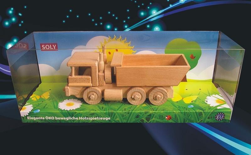 MAN Kipper Holzspielzeug Geschenk für Fahrer