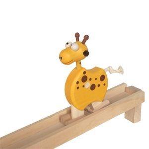 Gehendes Tier der Giraffe aus Holz, Holzspielzeug