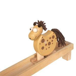 Hölzernes wandelndes Tier Heuschrecke, Holzspielzeug