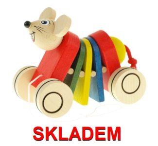 Spielzeug Holz Maus, Holzspielzeug