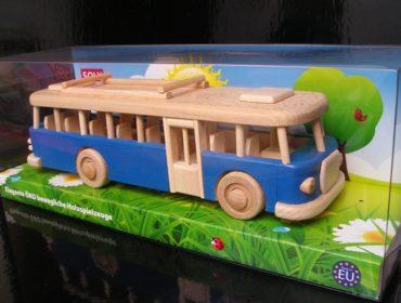 Blau Bus, Spielzeug Geschenk für Kinder und Busfahrer