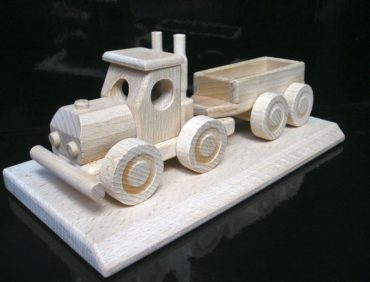Geschenk für LKW-Fahrer, Holzauto
