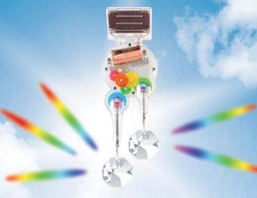 Swarovski Kristallschmuck, Luxusgeschenk, Solar Nachahmung Regenbogen