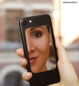Elastischer Spiegel für das Handy, immer zur Hand