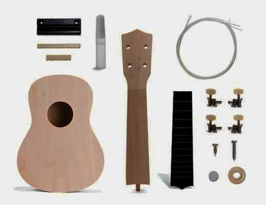Ukulele Gitarrenset