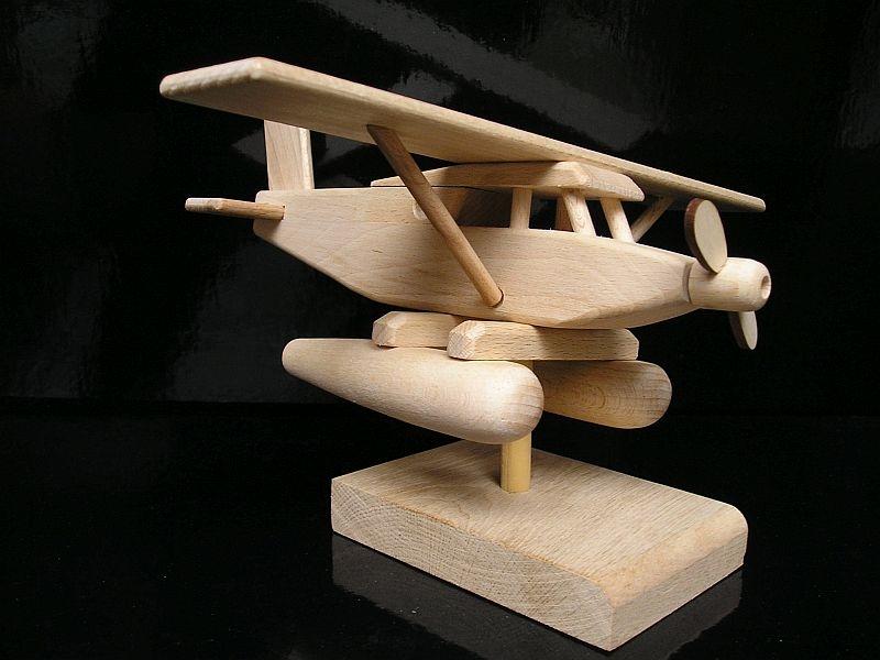 Geschenk Flugzeug Wasserflugzeug Holzgeschenke und Spielzeug Holzgeschenke und Spielzeug