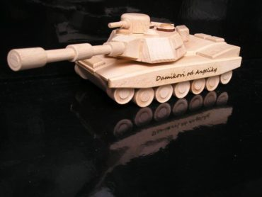 Spielzeug für Jungen Militärpanzer Holzgeschenke und Spielzeug