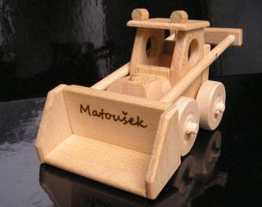 Spielzeug Bulldozer Holzgeschenke und Spielzeug