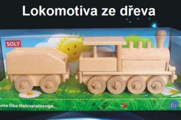 Dampflokomotive aus Holz Spielzeug für Jungen Holzspielzeug