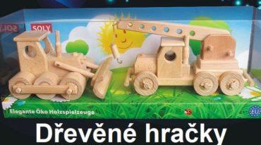 Holzkran und Bulldozer, Spielzeug Mobilkran Spielzeug Holzgeschenke und Spielzeug