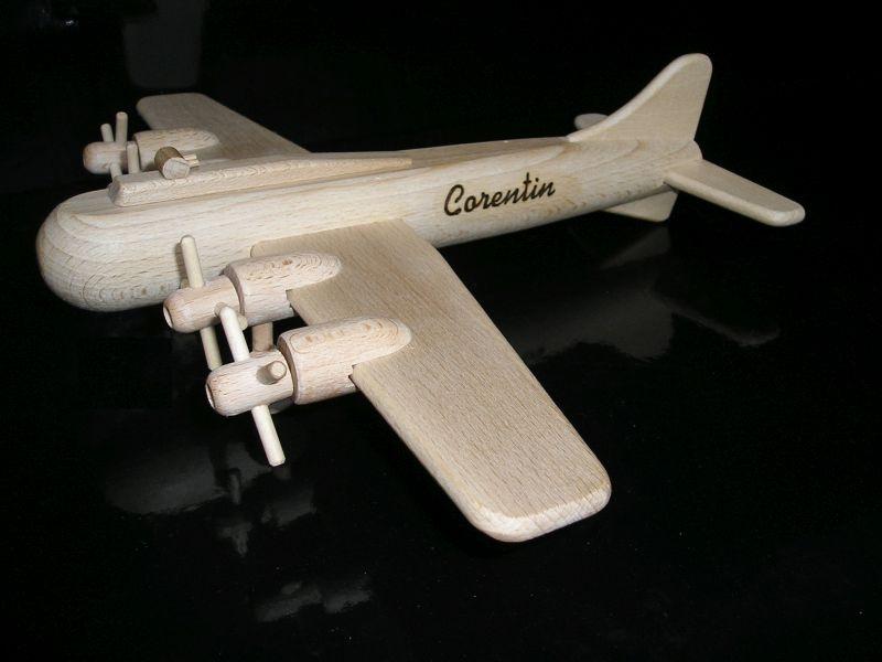 Militärflugzeug Spielzeug Holzgeschenke und Spielzeug