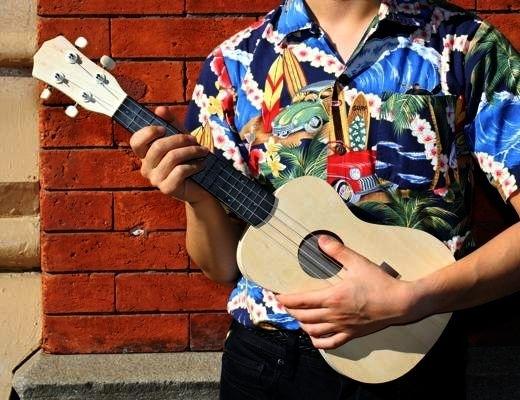 Ukulele Guitar Kit Gitarren