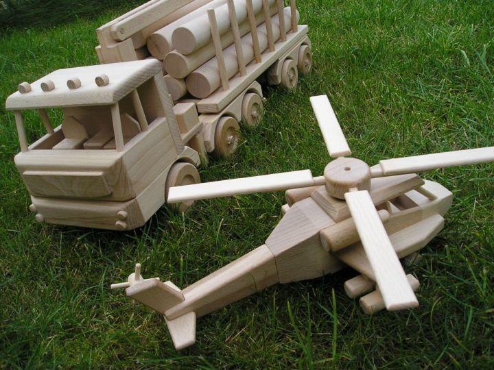 LKW Holzspielzeug Geschenke für Fahrer