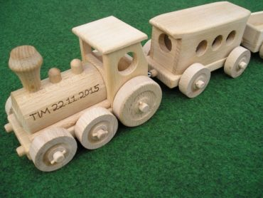 Holzzug fur Kinder, Spielzeug