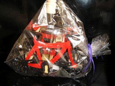 pre cyklistov, fľaša, sklo, sklenené darčeky